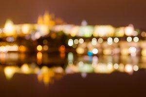 Prague at Night background