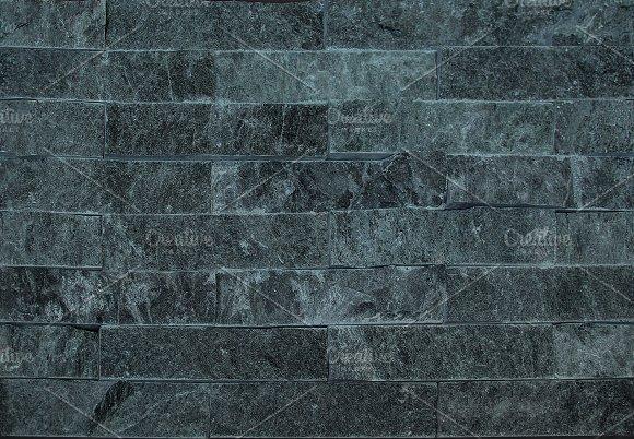 Slate wall cladding seamless texture