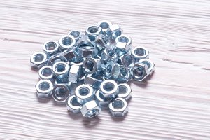 Lot of Stainless Steel nuts