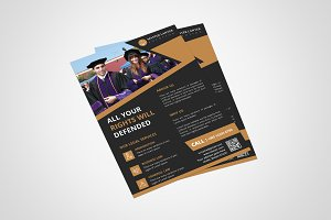 Lawyer Firm Flyer