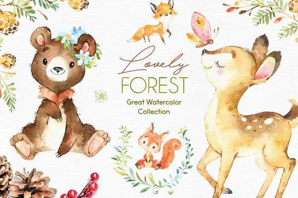 Lovely Forest. Great Collection.