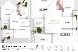 Wedding Suite Scene Mockup