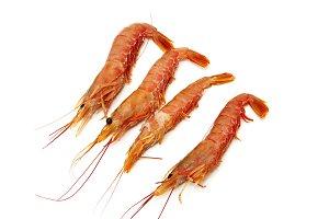 raw prawns