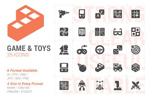 Game&Toy Filled Icon