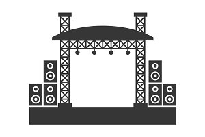 Outdoor Concert Stage Constructions