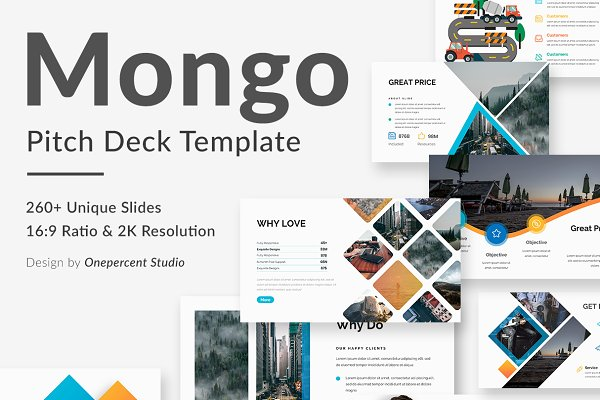 Presentation Templates: One Percent Studio - Mongo Multipurpose Google Slide