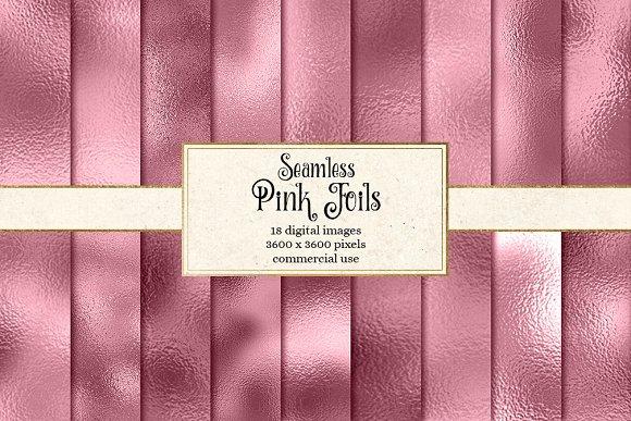 Pink Foil Textures in Textures