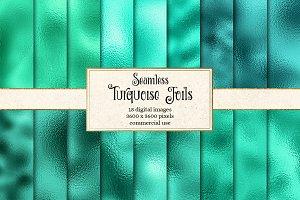 Turquoise Foil Textures