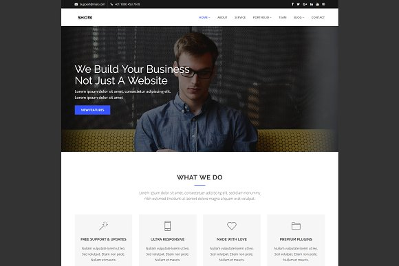 Show - Corporate HTML Template