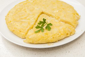 very good omelette
