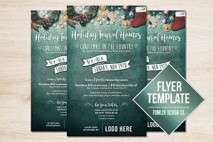 Holiday Christmas Flyer/ Poster