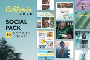 California Love - Social Pack