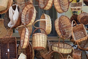 Wicker Weave Baskets