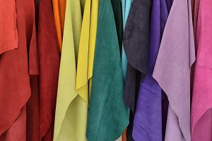 Textiles Colorful Background