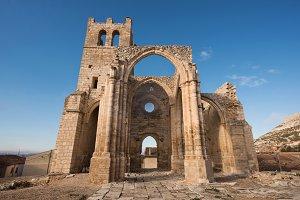 Ruins of abandoned church