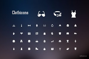 Clothicons Icon Pack