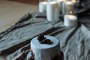 designer handmade cake