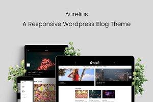 Aurelius Responsive Wordpress Blog
