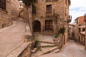 Town of Calaceite in teruel spain