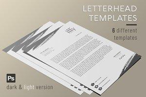 Letterhead Template - Creative Brush