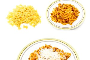 mural pasta meal types