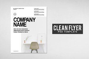 Clean Flyer Design Template