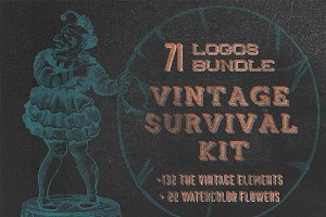 Vintage Survival Kit