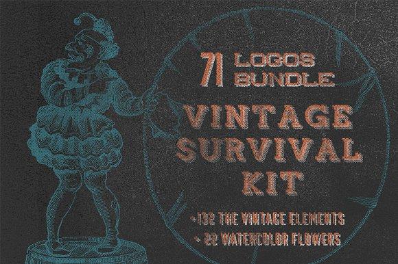 Vintage Survival Kit