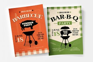 Rustic BBQ Flyer / Poster