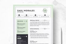 Resume Template 3 Page | CV Template by  in Resumes