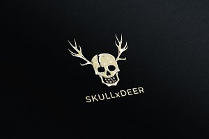 SkullxDeer Illustration