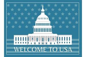 Welcome to USA Poster Headline