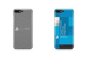 Huawei Y7 Pro 3d IMD Case Mockup