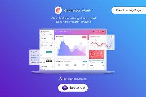 Chameleon Bootstrap 4 Admin Template