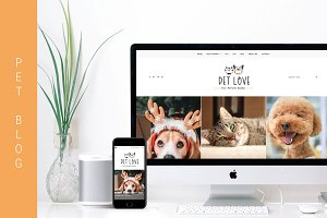 Pet Love - Animal WordPress Theme