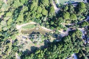 Pond in Tossa de Mar.