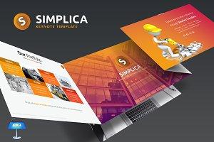 Simplica-Keynote Template