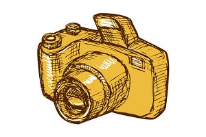 Digital Camera Drawing
