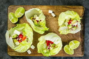 Low carb taco alternative - shell