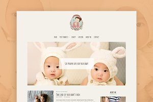 Mom Love - WordPress Blog Theme