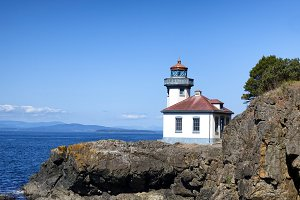 Lighthouse in Puget Sound