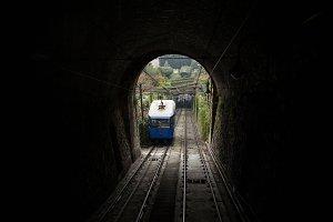 Bergamo from funicular