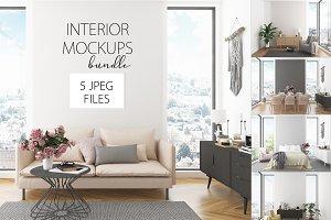 Interior bundle - 50% OFF - 5 files