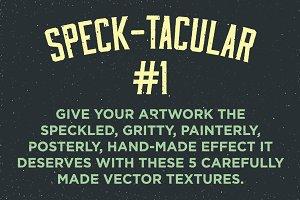 Speck-tacular #1 Fine Vector Texture