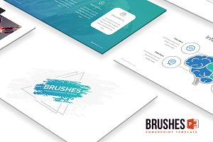 Brushes - Powerpoint Template