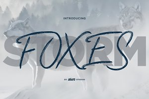 Foxes Typeface