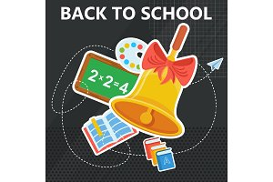 back to school with bell black