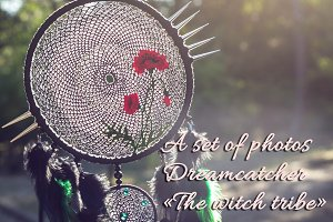 "Dreamcatcher ""The witch tribe"""