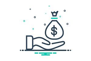 Payment money icon