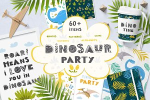Dinosaur Party collection!